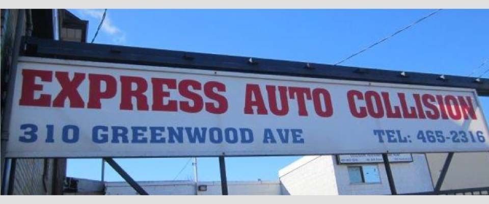 Express Auto Collision repair shop